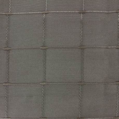 Jacquard fabric Isis (280 cm) - moka x 10cm