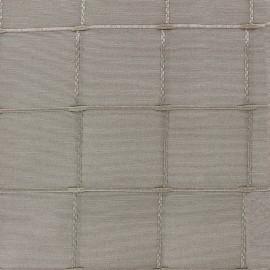Jacquard fabric Isis (280 cm) - vison x 11cm