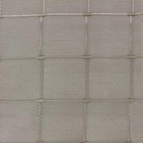 Jacquard fabric Isis (280 cm) - vison x 10cm