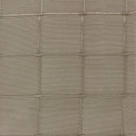 Tissu jacquard Grande Largeur Isis (280 cm) - lin x 11cm