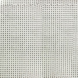 Suede fabric Ajourée Milky way - Sand x 10cm