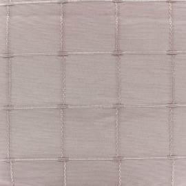 ♥ Coupon 35 cm X 280 cm ♥ Jacquard fabric Isis (280 cm) - powder pink