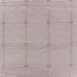 Tissu jacquard Grande Largeur Isis (280 cm) - rose poudré x 11cm