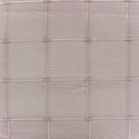 Jacquard fabric Isis (280 cm) - powder pink x 10cm
