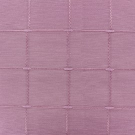 ♥ Coupon 35 cm X 280 cm ♥ Jacquard fabric Isis (280 cm) - light pink