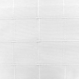 ♥ Coupon 50 cm X 280 cm ♥ Jacquard fabric Isis (280 cm) - white