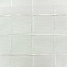 ♥ Coupon50 cm X 280 cm ♥ Jacquard fabric Isis (280 cm) - natural