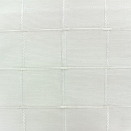 Tissu jacquard Grande Largeur Isis (280 cm) - naturel x 11cm