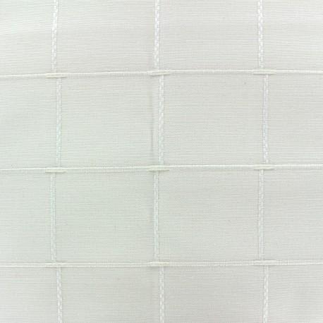 Jacquard fabric Isis (280 cm) - natural x 10cm