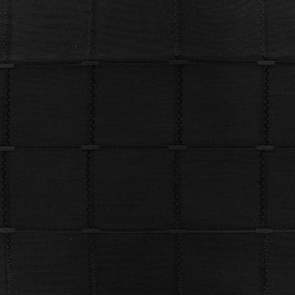 Tissu jacquard Isis (280 cm) - noir x 10cm