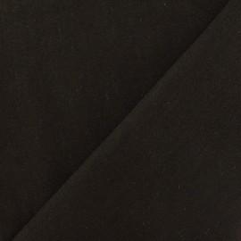 Linen Fabric - Cachou x 10cm