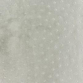 Tissu Suédine Motif 3D -  Sable x 10cm