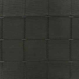 ♥ Coupon 150 cm X 280 cm ♥ Jacquard fabric Isis (280 cm) - pewter