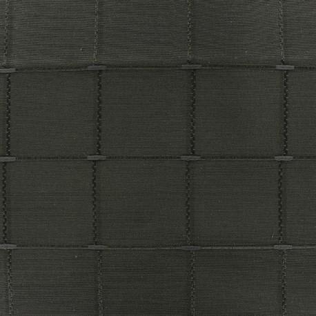 Jacquard fabric Isis (280 cm) - pewter x 10cm