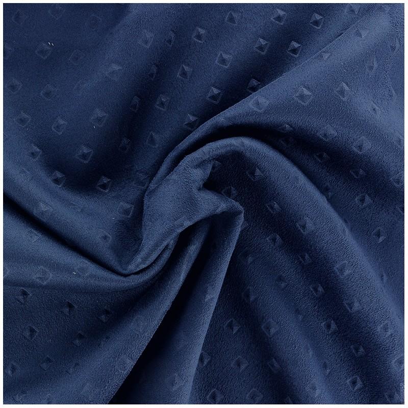 Tissus pas cher tissu su dine motif 3d marine - Tissu suedine pas cher ...