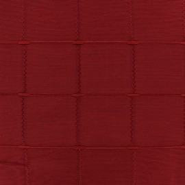 Jacquard fabric Isis (280 cm) - red x 11cm