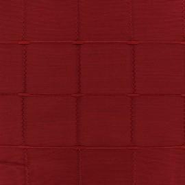 Tissu jacquard Isis (280 cm) - rouge x 10cm