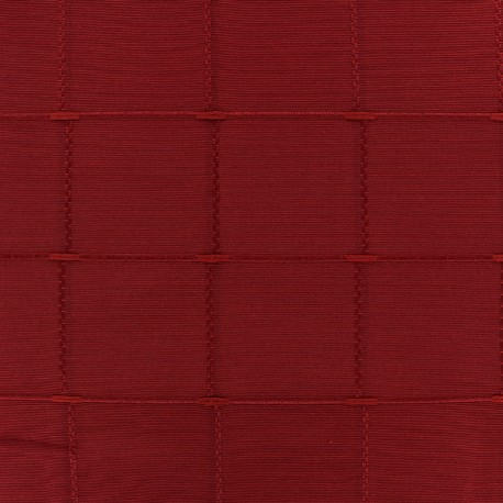 Jacquard fabric Isis (280 cm) - red x 10cm