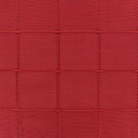 Tissu jacquard Grande Largeur Isis (280 cm) - rubis x 11cm