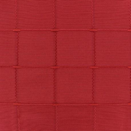 Jacquard fabric Isis (280 cm) - ruby