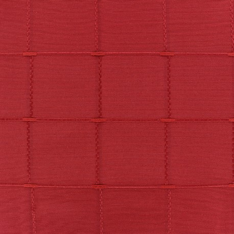 Tissu jacquard Isis (280 cm) - rubis x 10cm