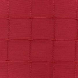 Tissu jacquard Isis (280 cm) - framboise x 10cm