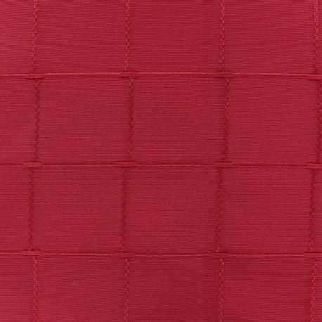 Jacquard fabric Isis (280 cm) - raspberry x 10cm