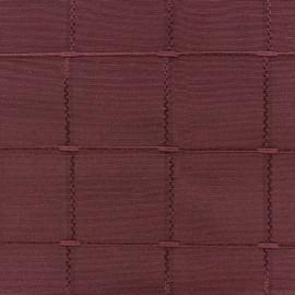 Jacquard fabric Isis (280 cm) - burgundy x 10cm