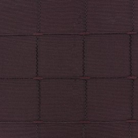Jacquard fabric Isis (280 cm) - burgundy x 11cm