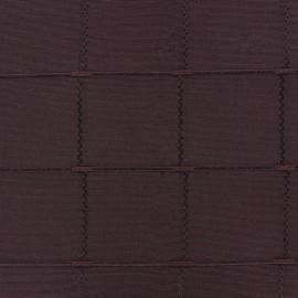 Tissu jacquard Grande Largeur Isis (280 cm) - bourgogne x 11cm
