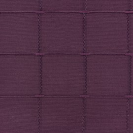 Tissu jacquard Grande Largeur Isis (280 cm) - violet x 11cm