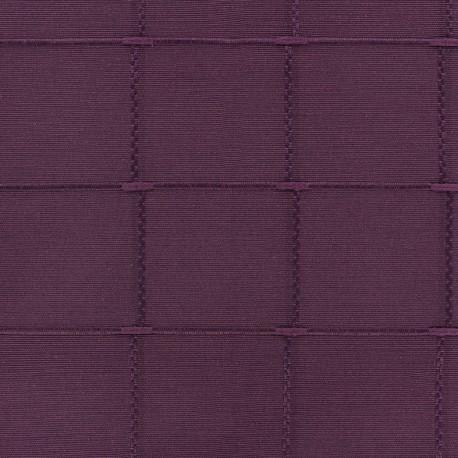 Tissu jacquard Isis (280 cm) - violet x 10cm