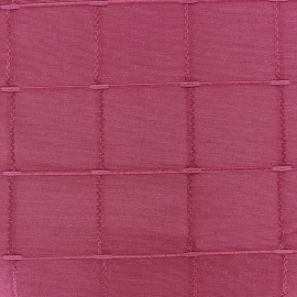 Jacquard fabric Isis (280 cm) - fuchsia x 11cm