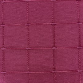 ♥ Coupon 300 cm X 280 cm ♥ Jacquard fabric Isis (280 cm) - shocking pink