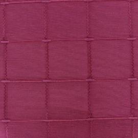 Tissu jacquard Grande Largeur Isis (280 cm) - rose shoching x 11cm