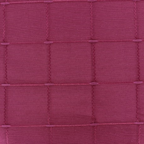 Jacquard fabric Isis (280 cm) - shocking pink x 12cm