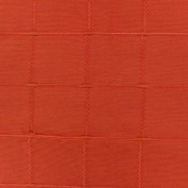 Tissu jacquard Grande Largeur Isis (280 cm) - paprika x 11cm
