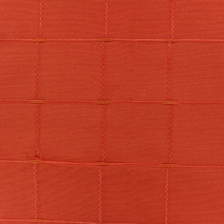 Tissu jacquard Isis (280 cm) - paprika x 12cm