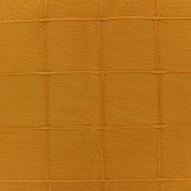 Tissu jacquard Isis (280 cm) - safran x 12cm
