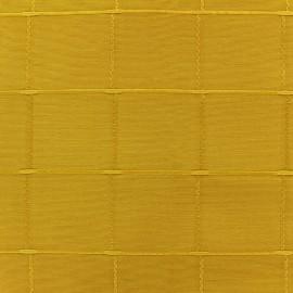 Tissu jacquard Grande Largeur Isis (280 cm) - moutarde x 11cm
