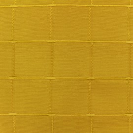 Tissu jacquard Isis (280 cm) - moutarde x 12cm