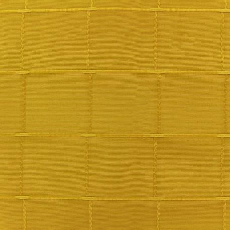 Jacquard fabric Isis (280 cm) - mustard x 12cm