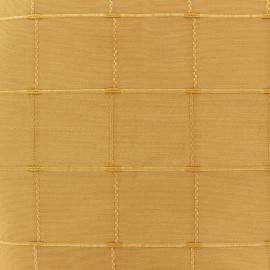 Tissu jacquard Grande Largeur Isis (280 cm) - jaune x 11cm