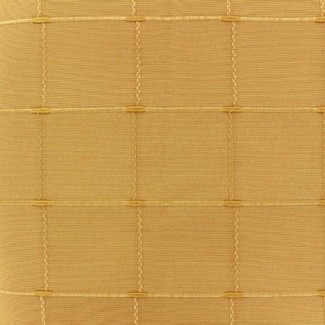 Jacquard fabric Isis (280 cm) - yellow x 12cm