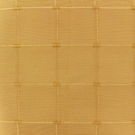 Tissu jacquard Isis (280 cm) - jaune x 12cm