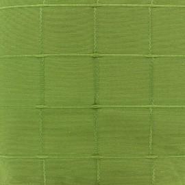 ♥ Coupon 250 cm X 280 cm ♥ Jacquard fabric Isis (280 cm) - anise
