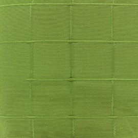 Jacquard fabric Isis (280 cm) - anise x 11cm