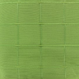 Tissu jacquard Grande Largeur Isis (280 cm) - vert x 11cm