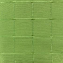 Tissu jacquard Isis (280 cm) - vert x 12cm