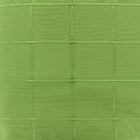 Jacquard fabric Isis (280 cm) - green x 12cm